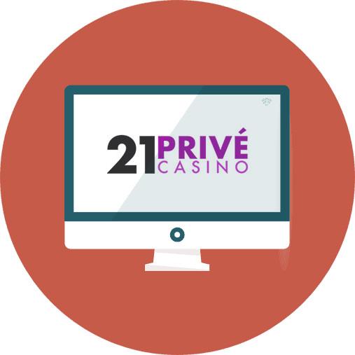 21 Prive Casino - casino review
