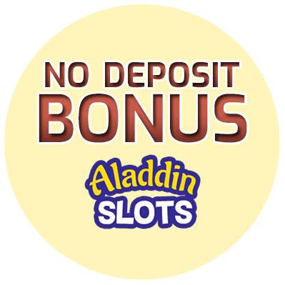 Aladdin Slots - no deposit bonus cn4u