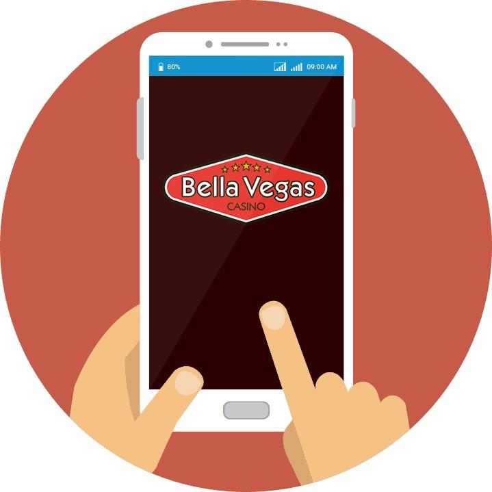 Bella Vegas Casino - Mobile friendly