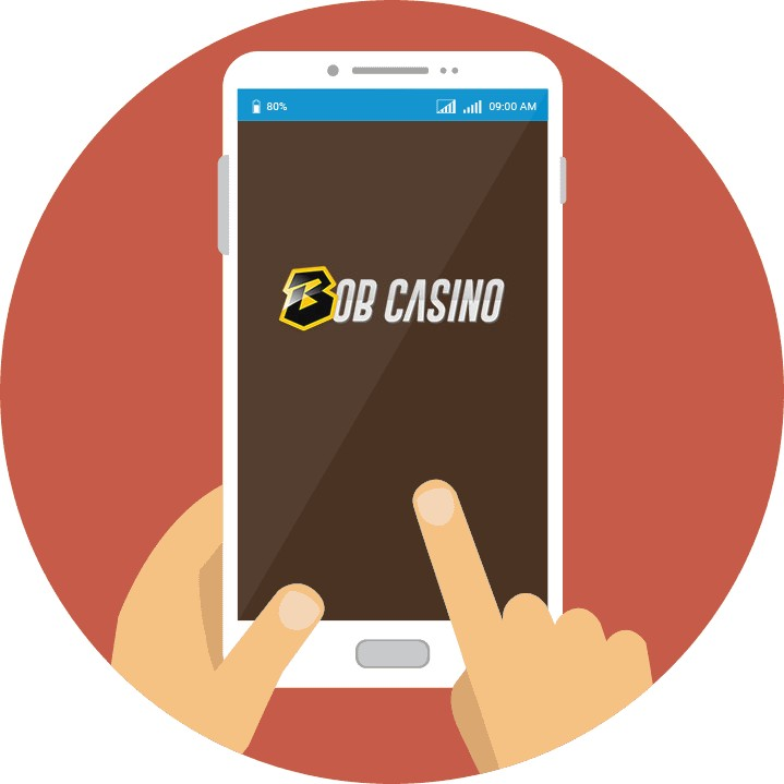 Bob Casino - Mobile friendly