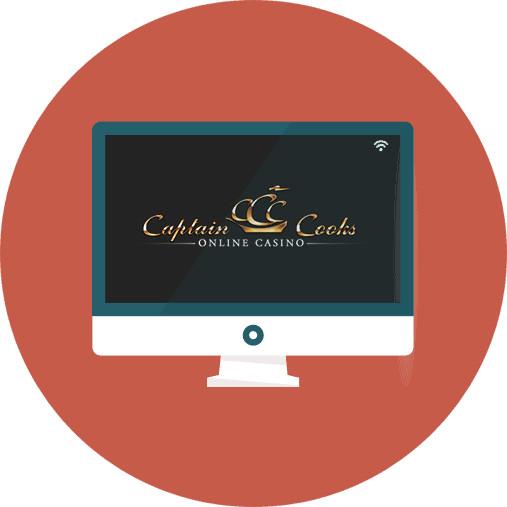 Captain Cooks Casino-review