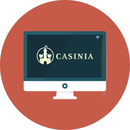 Casinia Casino-review