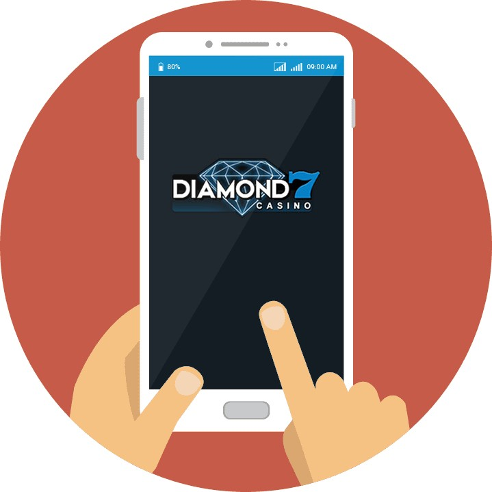 Diamond7 Casino - Mobile friendly
