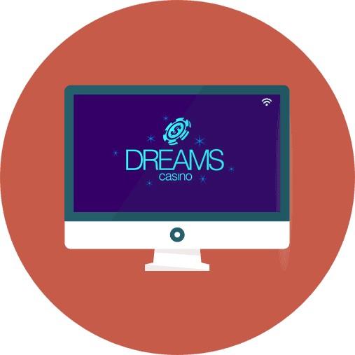 Dreams Casino-review