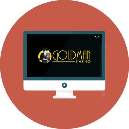 Goldman Casino - casino review