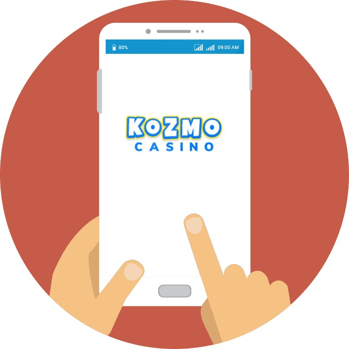Kozmo Casino - Mobile friendly