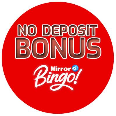 Mirror Bingo - no deposit bonus cn4u