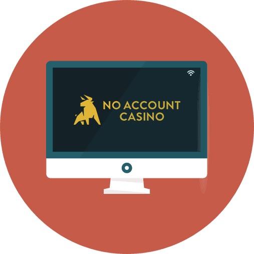 No Account Casino-review