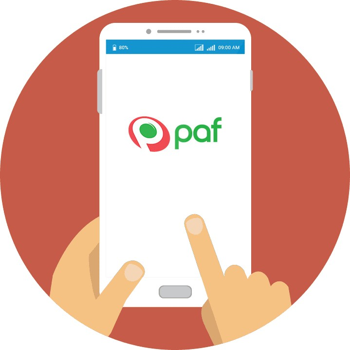 Paf Casino - Mobile friendly