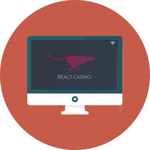 React Casino-review