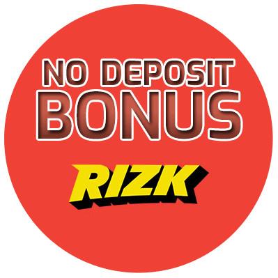Rizk Casino - no deposit bonus cn4u