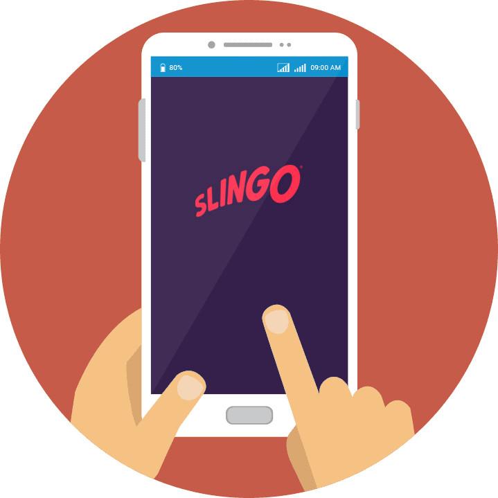 Slingo Casino - Mobile friendly