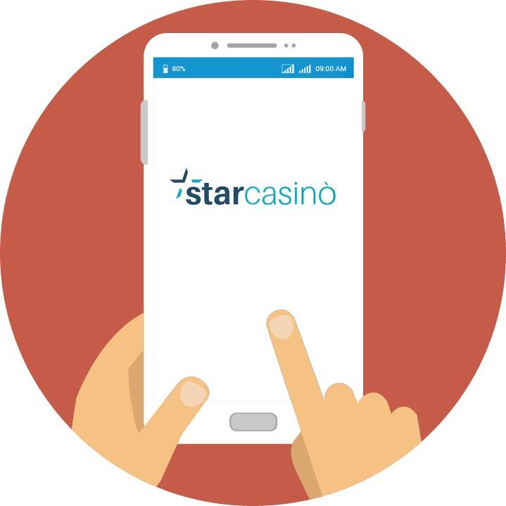 StarCasino - Mobile friendly