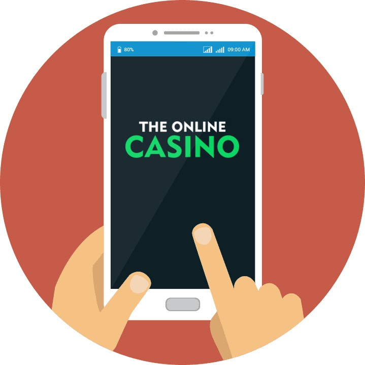 TheOnlineCasino - Mobile friendly