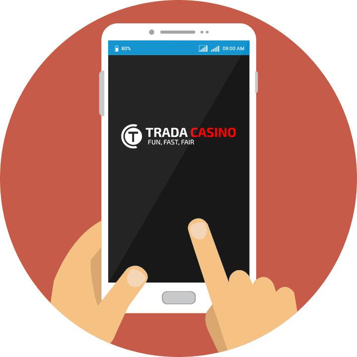 Trada Casino - Mobile friendly