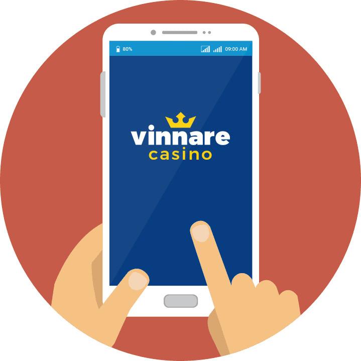 Vinnare Casino - Mobile friendly