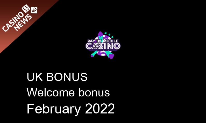 Latest Pay by Mobile Casino bonus spins for UK players, 500 bonus spins