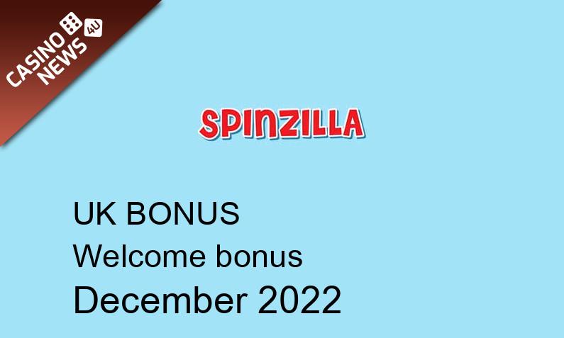 Latest Spinzilla Casino UK bonus spins, 25 bonus spins