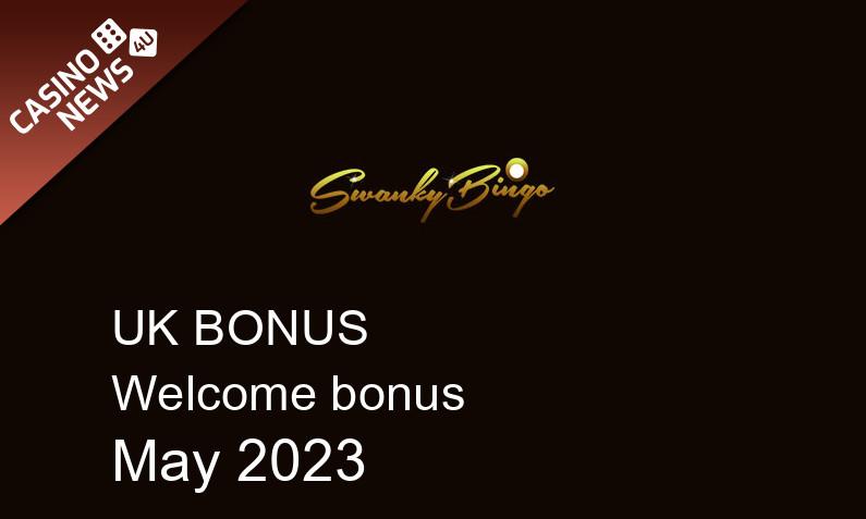 Latest Swanky Bingo Casino UK bonus spins, 500 bonus spins