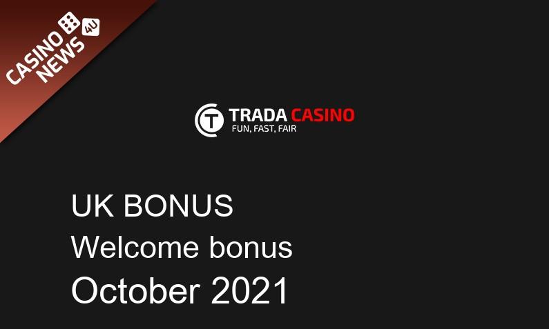 Latest Trada Casino UK bonus spins, 150 bonus spins