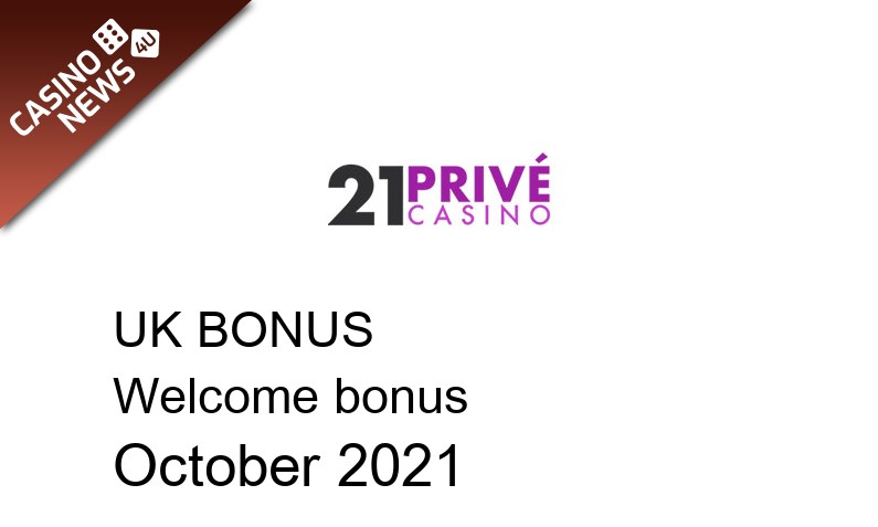 Latest UK bonus spins from 21 Prive Casino, 200 bonus spins