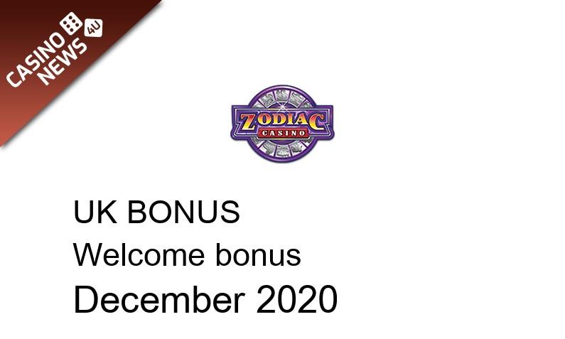 Latest Zodiac Casino UK bonus spins, 80 bonus spins